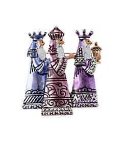 Studio Works® Silvertone And Multi-Colored Wise Men Pin
