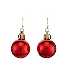Studio Works® Goldtone Ornament Drop Earrings