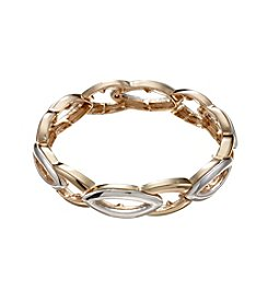 Napier® Two Tone Medium Stretch Bracelet