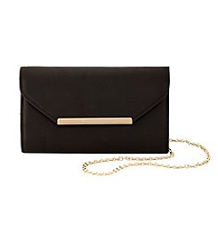 La Regale® Satin Envelope Clutch