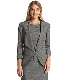 Nine West® Tweed Fly-Away Jacket