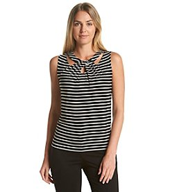 Nine West® X-Cross Ity Top
