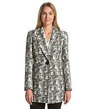 Kasper® One Button Jacket