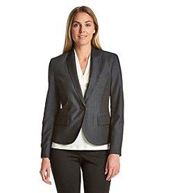 Anne Klein® Denim Blazer Jacket