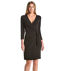 Anne Klein® Faux Wrap Dress