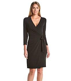 Anne Klein® Faux Wrap Dress