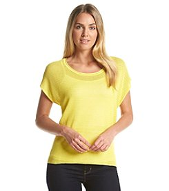 Joan Vass New York® Scoop Neck Top