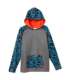 Exertek® Boys' 8-20 Long Sleeve Printed Fleece Hoodie