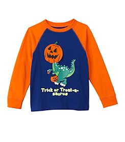 Mix & Match Boys' 2T-4T Trick Or Treat-A-Saurus Raglan Tee