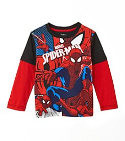 Spider-Man® Boys' 2T-4T Layered Spiderman Skater Tee