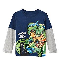 Nickelodeon® Boys' 2T-4T Layered Leonardo Skater Tee
