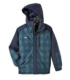 Hawke & Co. Boys' 4-20 Printed Tech Jacket