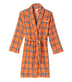 Calvin Klein Boys' 5-16 Plaid Fleece Robe