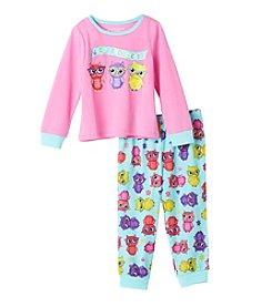 Komar Kids® Girls' 2T-4T 2-Piece Whoo's The Cutest? Pajama Set