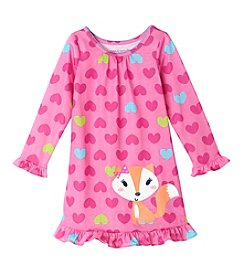 Komar Kids® Girls' 2T-4T Fox Night Gown
