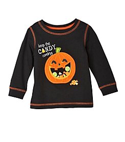Mix & Match Baby Boys Long Sleeve Pumpkin Tee