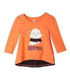 Mix & Match Baby Girls' Long Sleeve Boo-Tiful Bow Back Tee