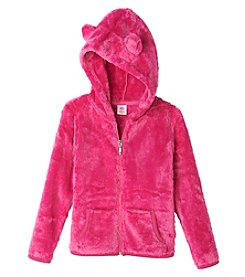 Mix & Match Girls' 2T-6X Fuzzy Hoodie