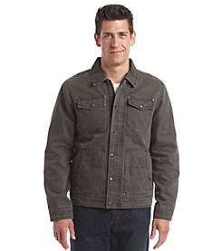 G.H. Bass & Co. Men's Cotton Canvas Lay Down Collar Depot Jacket