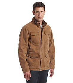 G.H. Bass & Co. Men's Cotton Canvas Four Pocket Field Jacket