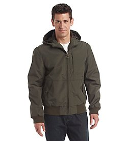 G.H. Bass & Co. Men's Performance Campsite Hooded Bomber Jacket