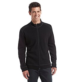 Paradise Collection® Men's Full Zip Flatback Long Sleeve Pullover