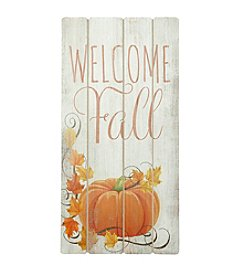 LivingQuarters Welcome Fall Wall Art