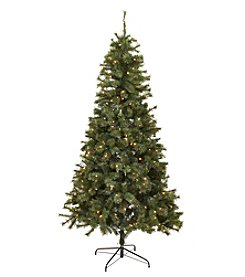 LivingQuarters 7' Artificial Prelit Tree