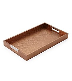 CASA by Victor Alfaro Wanderlust Collection Goldtone Rectangular Tray