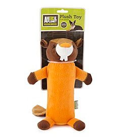 Animal Planet® Beaver Pet Toy Plush Water Bottle Cruncher