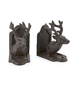 Ruff Hewn Reindeer Bookends
