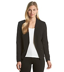 Ivanka Trump® Crepe Open Blazer