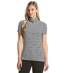 MICHAEL Michael Kors® Striped Turtleneck Top