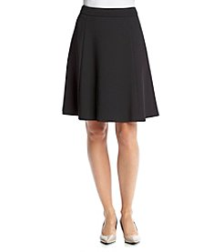 Calvin Klein Flared Scuba Skirt
