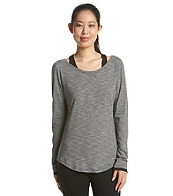 Marc New York Performance Cold Shoulder Top