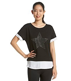 Marc New York Performance Studded Star Tee