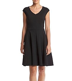 Relativity® Ponte Fit And Flare Dress