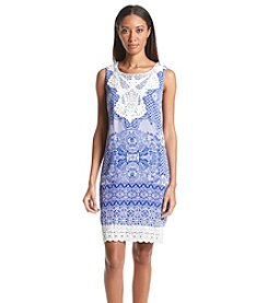 Sangria™ Multi Patterned Day Dress