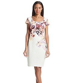 Sangria™ Floral Printed Dress