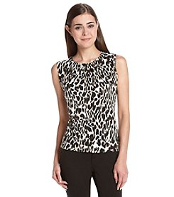 Calvin Klein Petites' Abstract Animal Print Cami