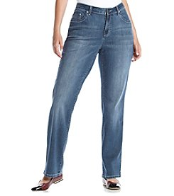 Earl Jean® Plus Size Bling Flap Pocket Slim Bootcut Denim Jeans