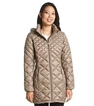 32Degrees Weatherproof Long Packable Down Jacket