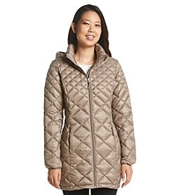 32Degrees Weatherproof Long Packable Down Jacket