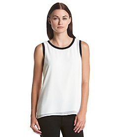 Calvin Klein Rib Trim Top