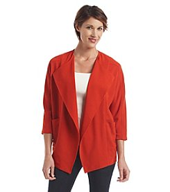 Laura Ashley® Solid Cocoon Jacket