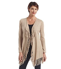 Laura Ashley® Fringe Hem Cardigan