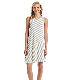 Kensie® Multi Asymmetrical Stripe Dress