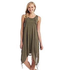 Kensie® Fringe Trim Dress