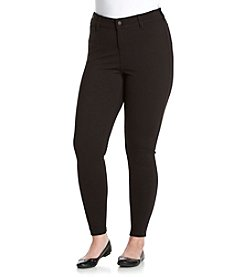 Celebrity Pink Plus Size Five Pocket Ponte Skinny Pants