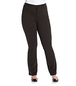 Celebrity Pink Plus Size Five Pocket Ponte Bootcut Pants